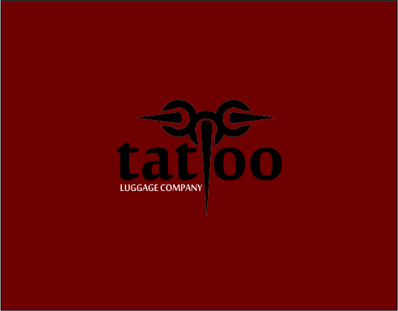 Logo Design by Agus Martoyo - Entry No. 144 in the Logo Design Contest Artistic Logo Design for Tattoo Luggage Company.