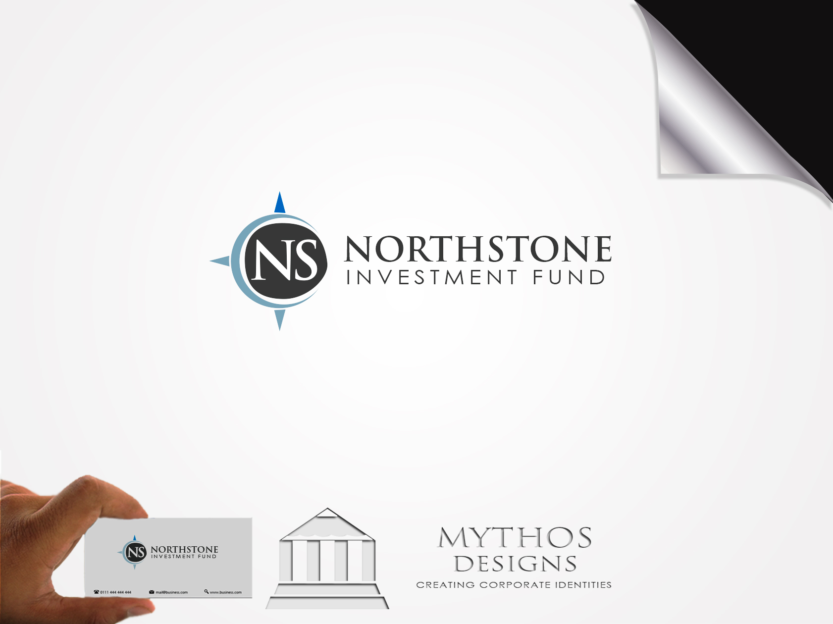 Logo Design by Mythos Designs - Entry No. 229 in the Logo Design Contest Unique Logo Design Wanted for NorthStone Investment Fund Inc.