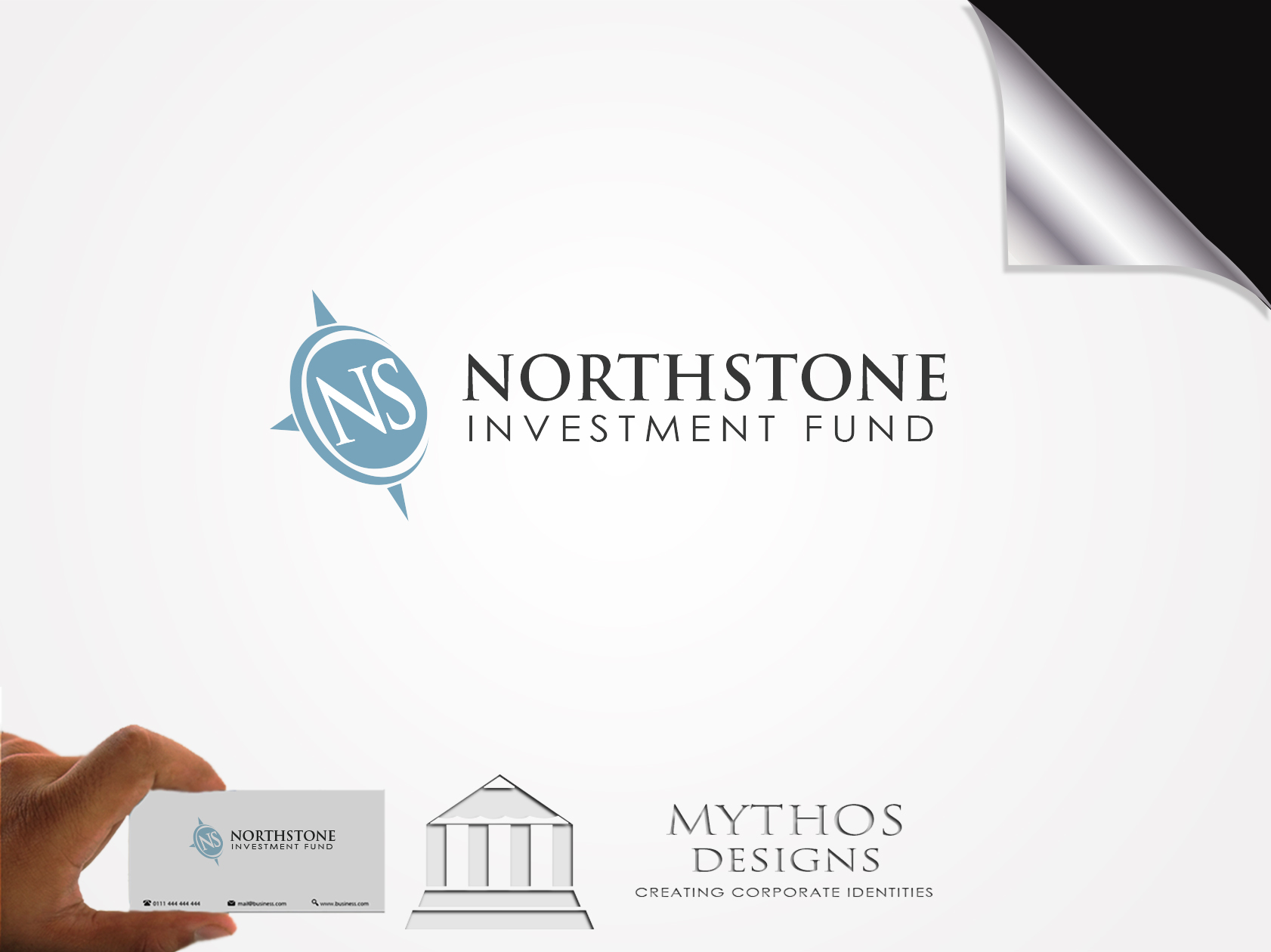 Logo Design by Mythos Designs - Entry No. 230 in the Logo Design Contest Unique Logo Design Wanted for NorthStone Investment Fund Inc.