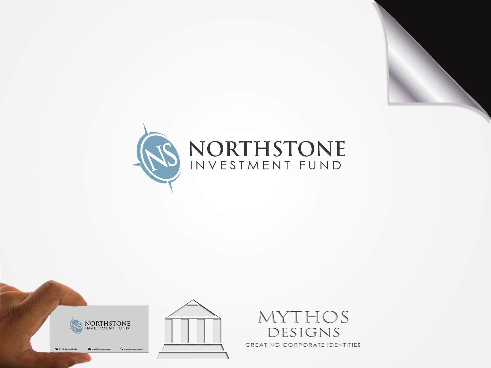 Logo Design by Mythos Designs - Entry No. 231 in the Logo Design Contest Unique Logo Design Wanted for NorthStone Investment Fund Inc.