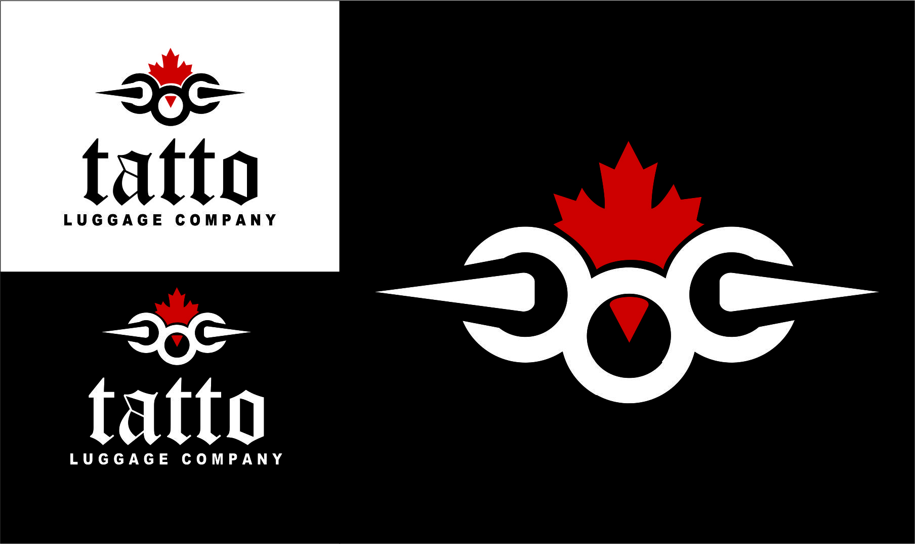 Logo Design by Agus Martoyo - Entry No. 148 in the Logo Design Contest Artistic Logo Design for Tattoo Luggage Company.
