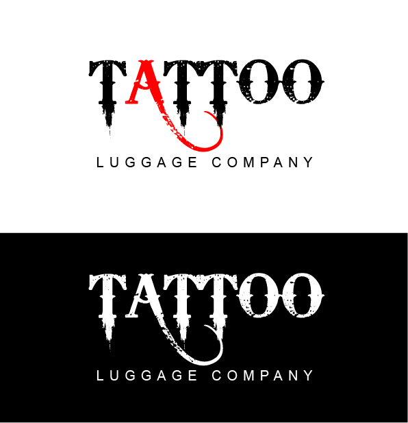 Logo Design by mediaproductionart - Entry No. 151 in the Logo Design Contest Artistic Logo Design for Tattoo Luggage Company.