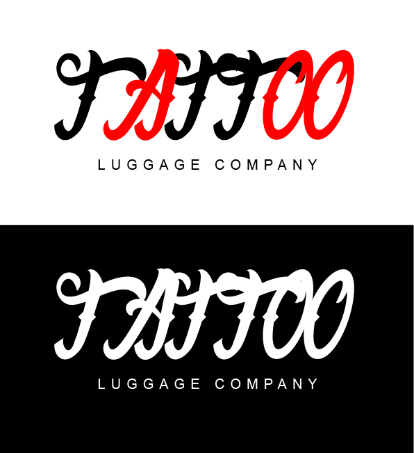 Logo Design by mediaproductionart - Entry No. 152 in the Logo Design Contest Artistic Logo Design for Tattoo Luggage Company.