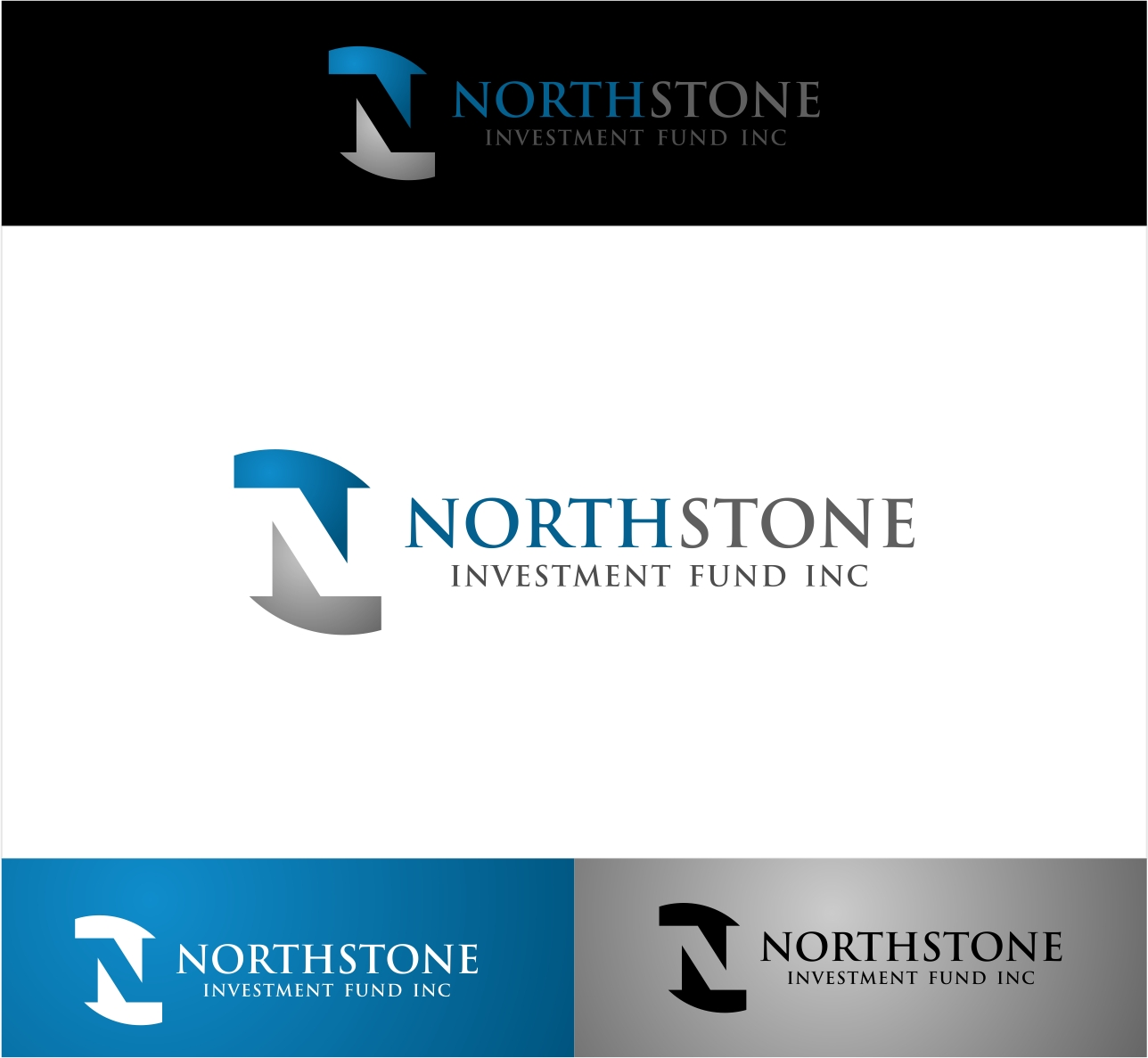 Logo Design by haidu - Entry No. 233 in the Logo Design Contest Unique Logo Design Wanted for NorthStone Investment Fund Inc.
