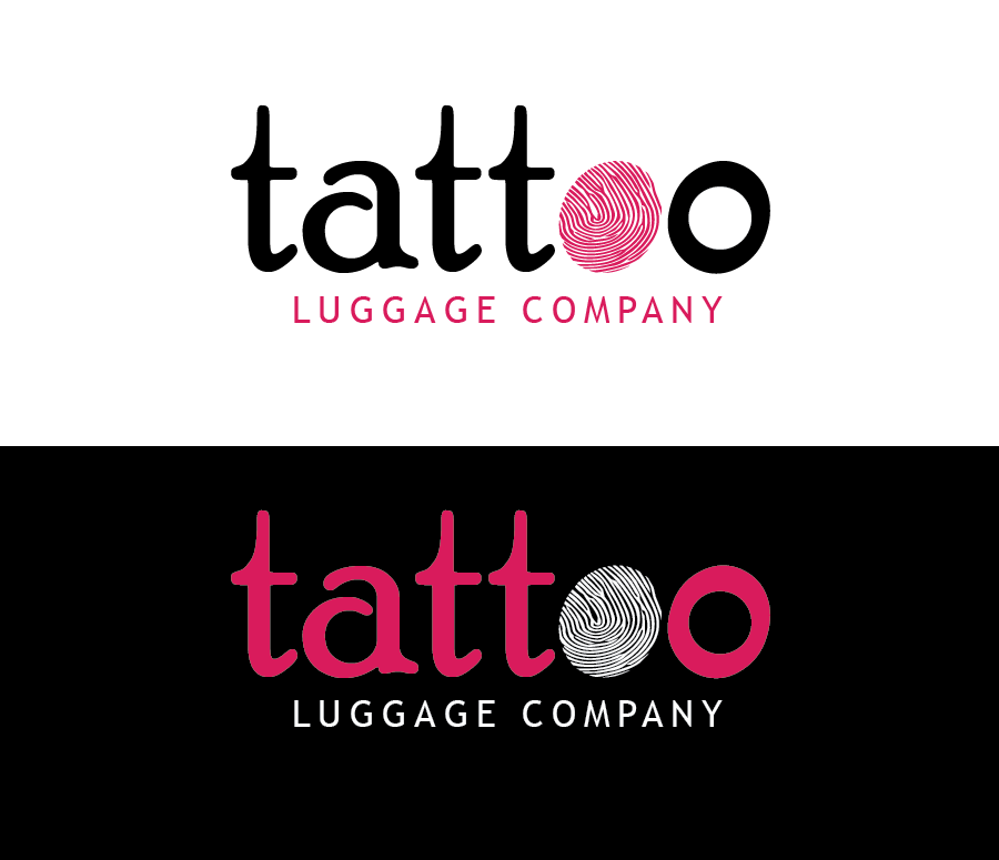 Logo Design by Christina Evans - Entry No. 160 in the Logo Design Contest Artistic Logo Design for Tattoo Luggage Company.