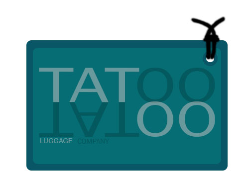 Logo Design by Romer james Cultura - Entry No. 164 in the Logo Design Contest Artistic Logo Design for Tattoo Luggage Company.