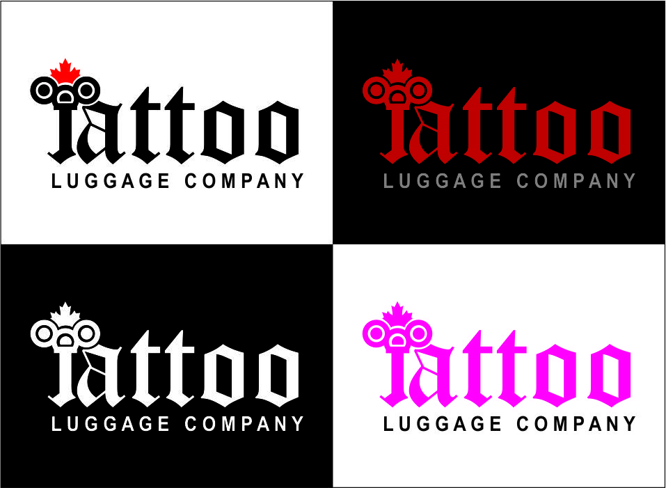 Logo Design by Agus Martoyo - Entry No. 166 in the Logo Design Contest Artistic Logo Design for Tattoo Luggage Company.