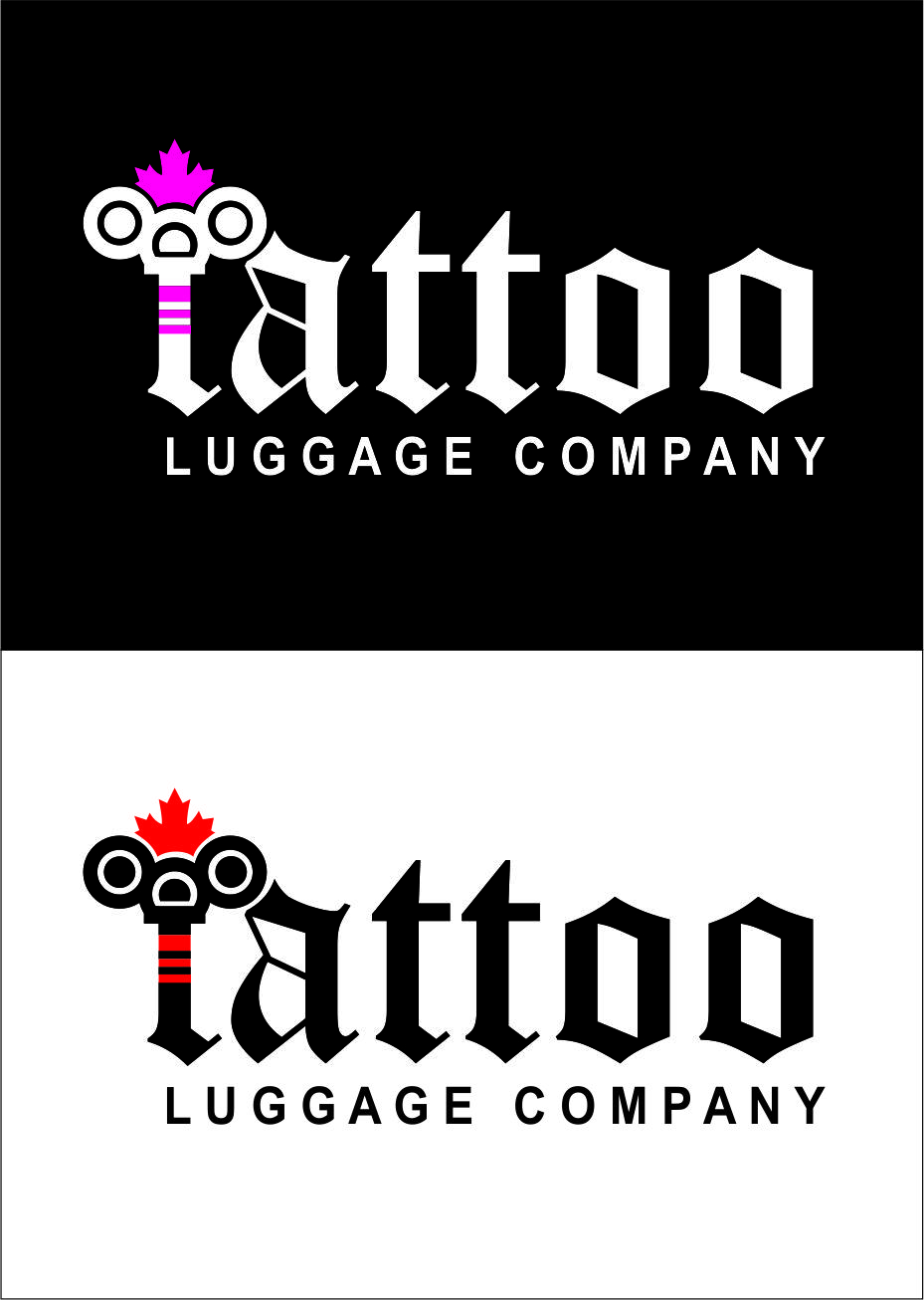 Logo Design by Agus Martoyo - Entry No. 168 in the Logo Design Contest Artistic Logo Design for Tattoo Luggage Company.