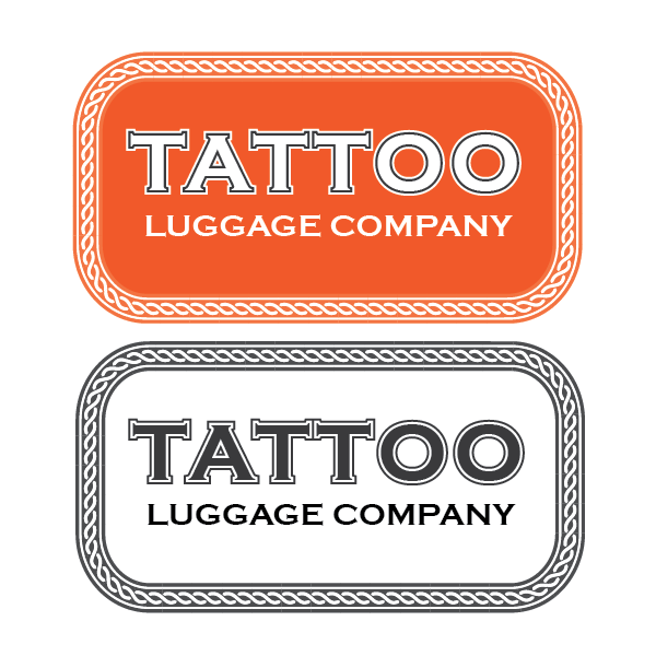 Logo Design by Private User - Entry No. 171 in the Logo Design Contest Artistic Logo Design for Tattoo Luggage Company.