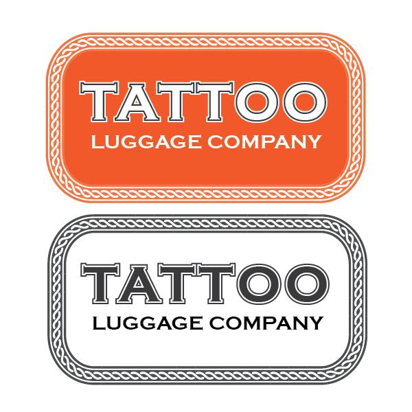Logo Design by Private User - Entry No. 171 in the Logo Design Contest Artistic Logo Design for Tattoo Luggage Company.