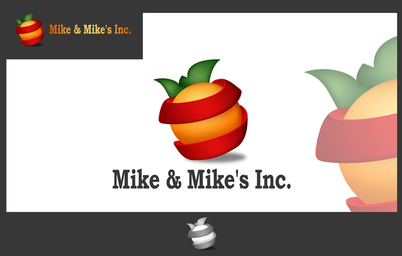 Logo Design by Respati Himawan - Entry No. 14 in the Logo Design Contest Captivating Logo Design for Mike and Mike's Inc..