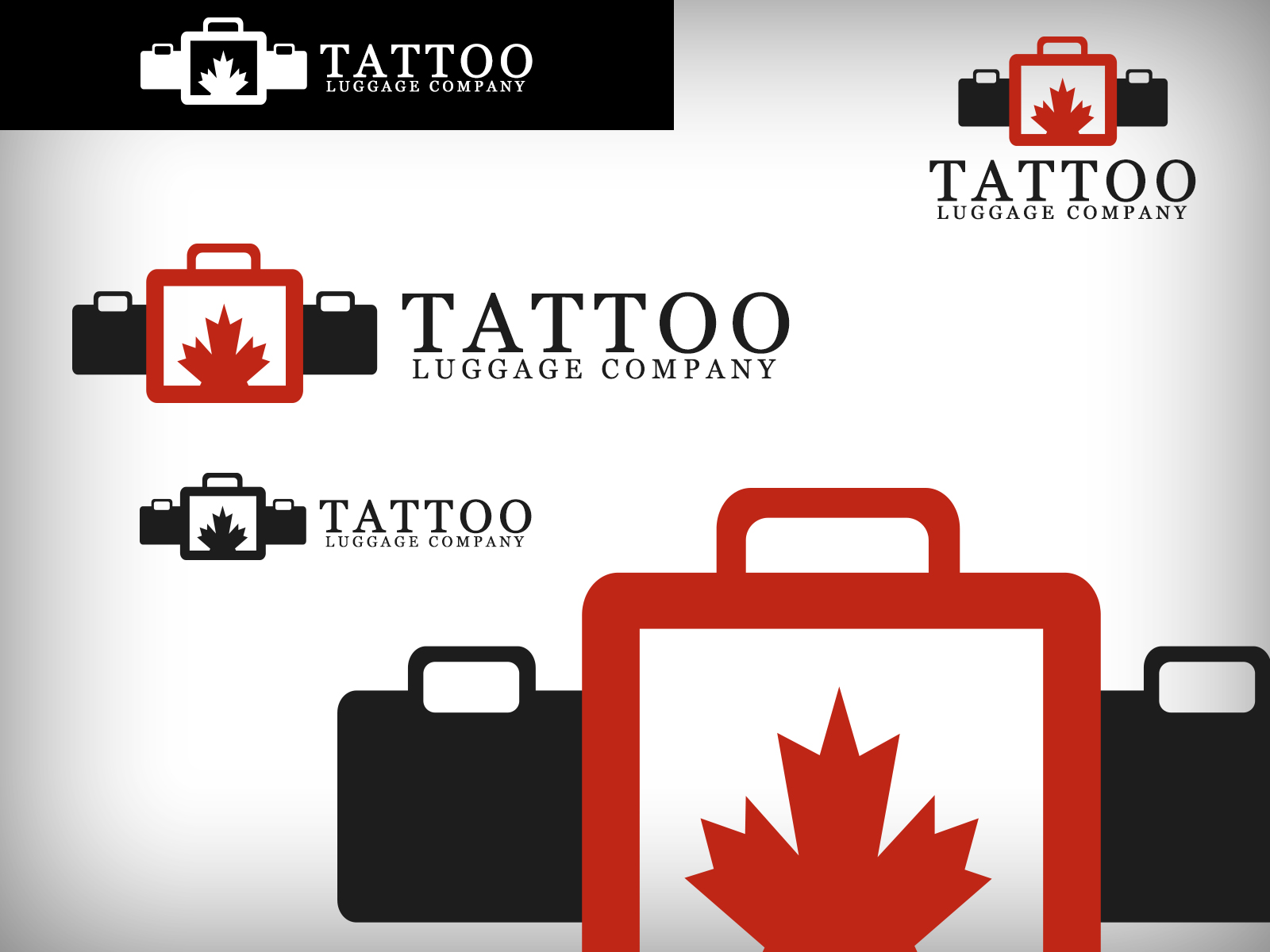 Logo Design by Virgilio Pineda III - Entry No. 178 in the Logo Design Contest Artistic Logo Design for Tattoo Luggage Company.