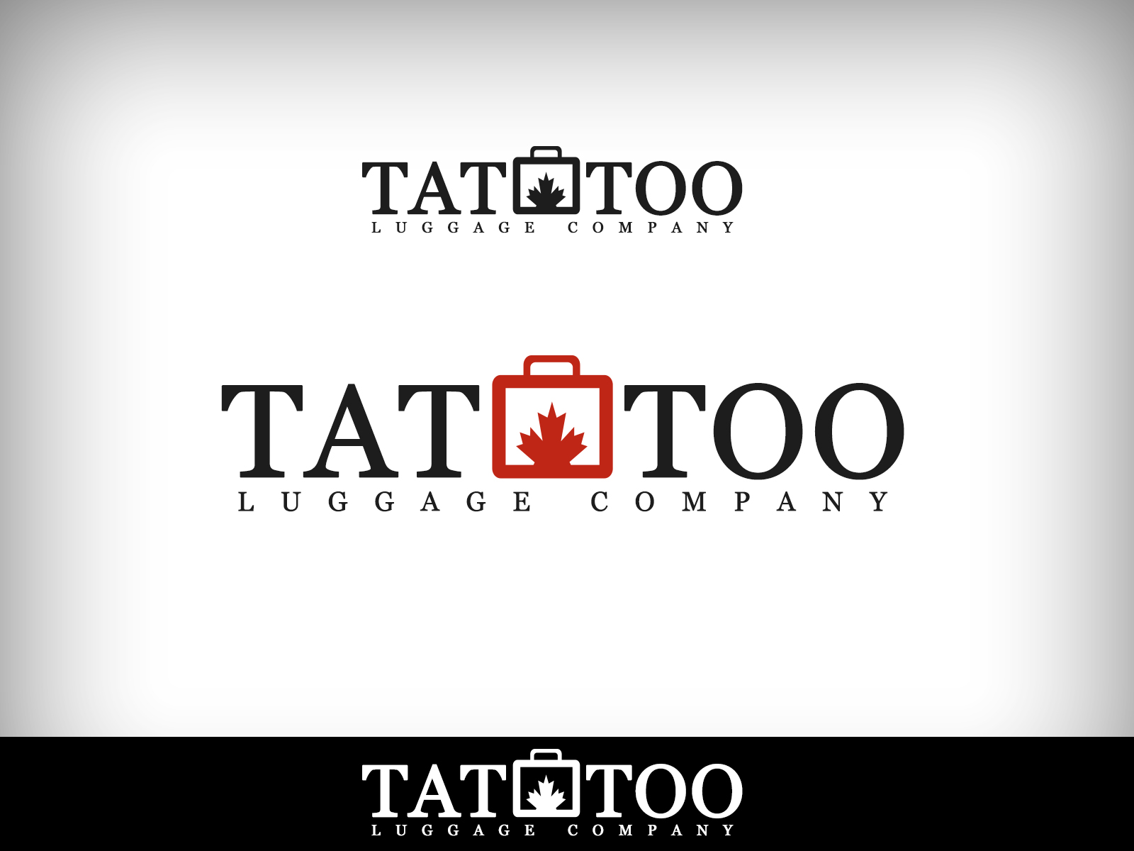 Logo Design by Virgilio Pineda III - Entry No. 181 in the Logo Design Contest Artistic Logo Design for Tattoo Luggage Company.