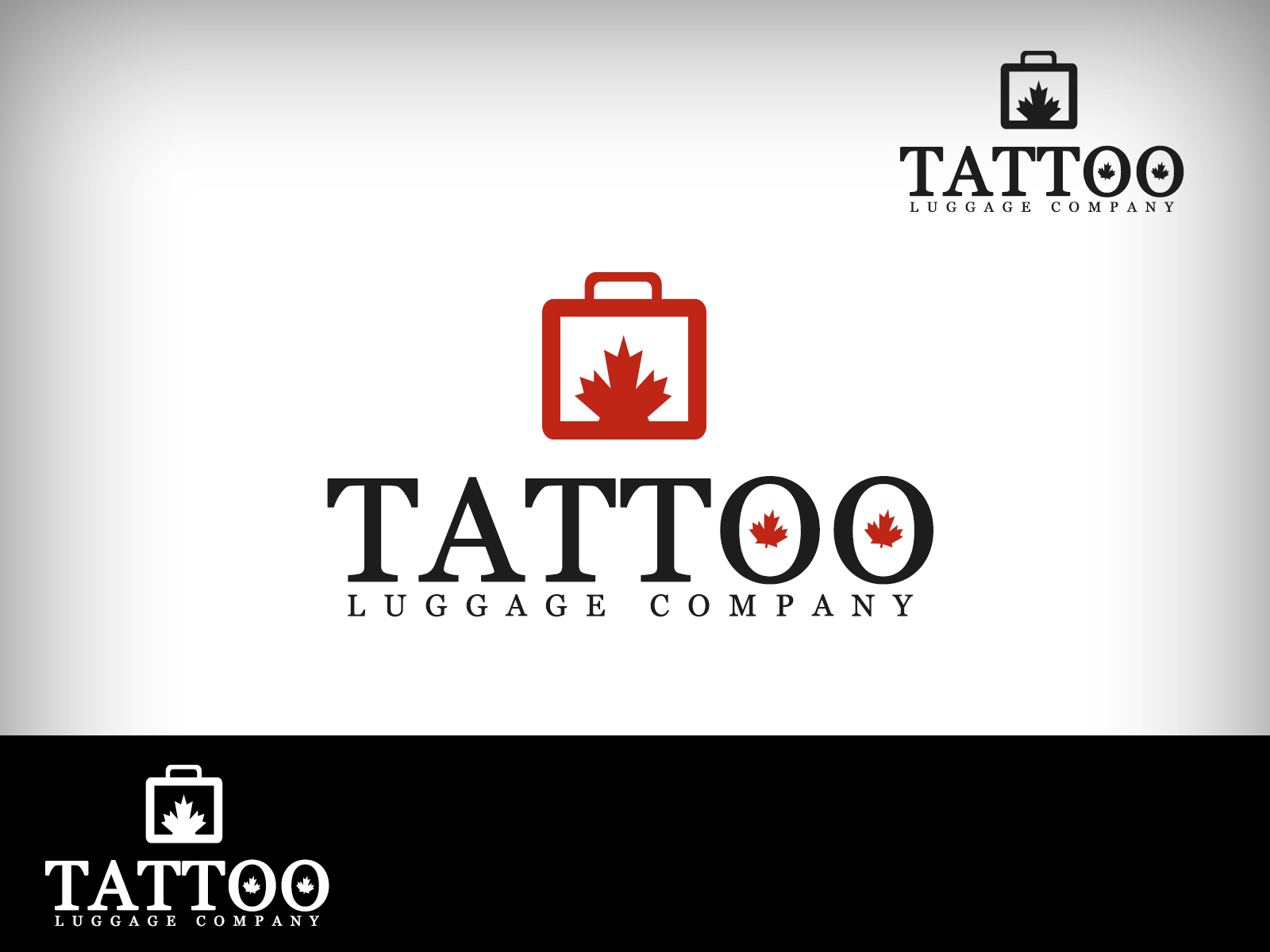 Logo Design by Virgilio Pineda III - Entry No. 182 in the Logo Design Contest Artistic Logo Design for Tattoo Luggage Company.