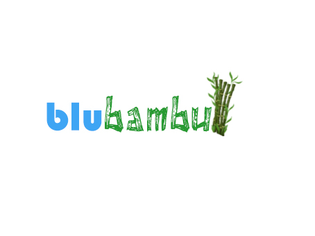 Logo Design by Kartheek Kittu - Entry No. 2 in the Logo Design Contest New Logo Design for blubambu.