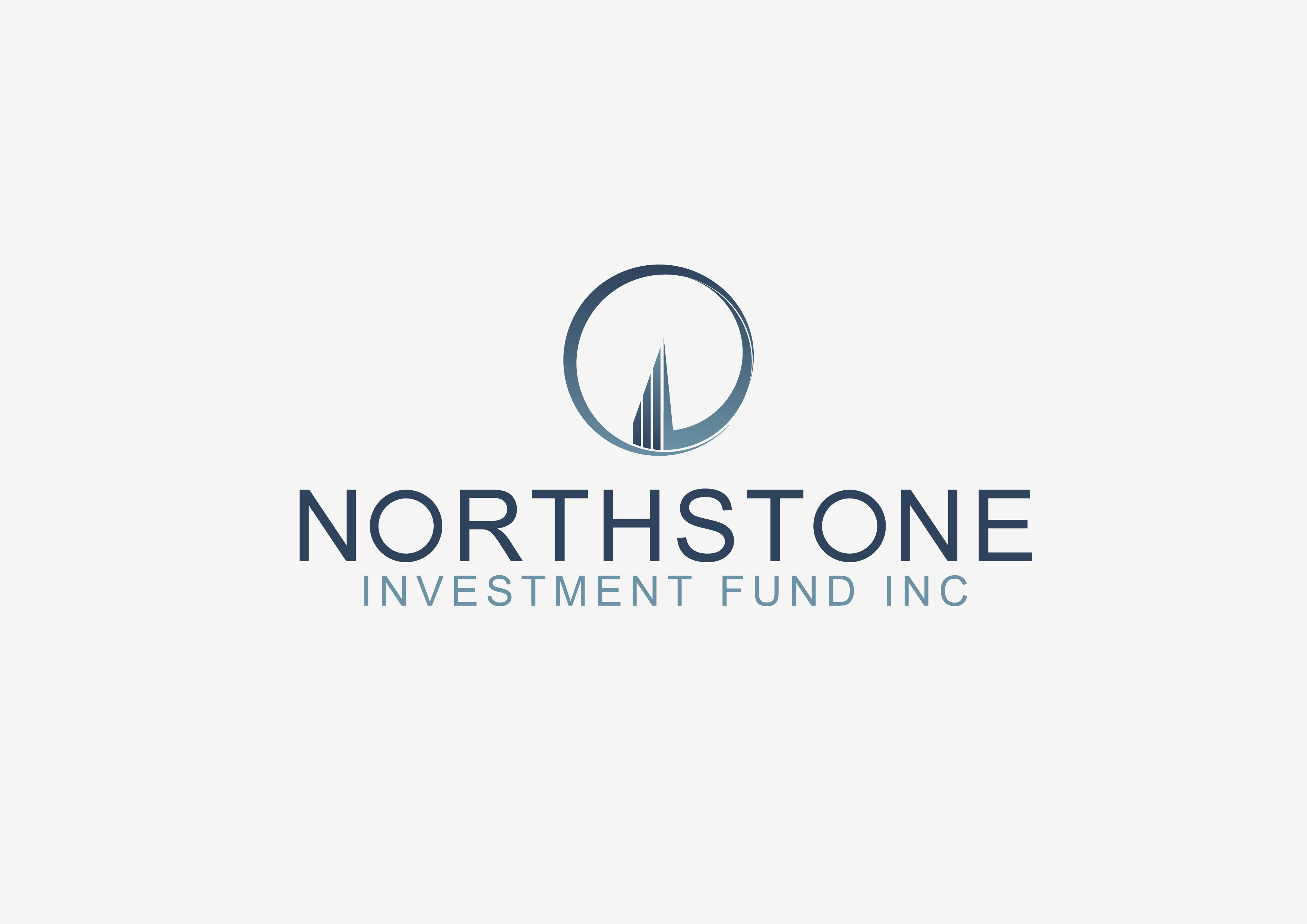 Logo Design by 3draw - Entry No. 236 in the Logo Design Contest Unique Logo Design Wanted for NorthStone Investment Fund Inc.