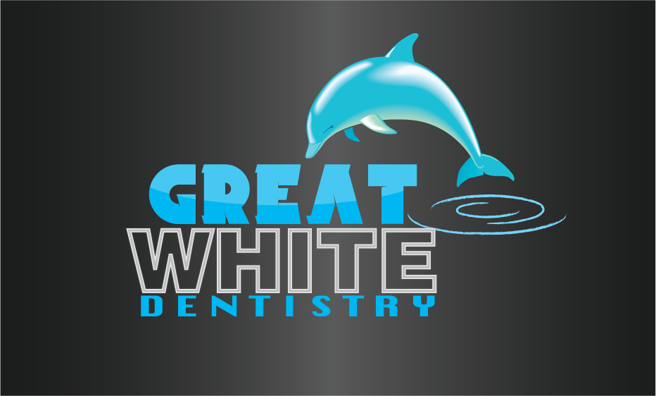 Logo Design by Sri Lata - Entry No. 91 in the Logo Design Contest Logo Design for Great White Dentistry.