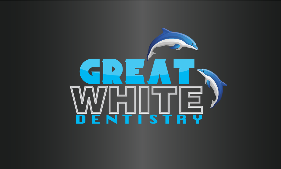 Logo Design by Sri Lata - Entry No. 92 in the Logo Design Contest Logo Design for Great White Dentistry.