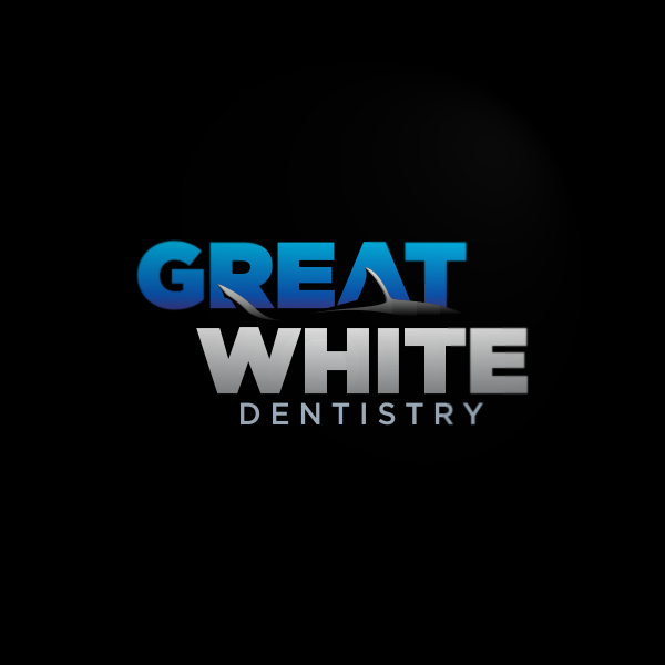 Logo Design by Private User - Entry No. 93 in the Logo Design Contest Logo Design for Great White Dentistry.