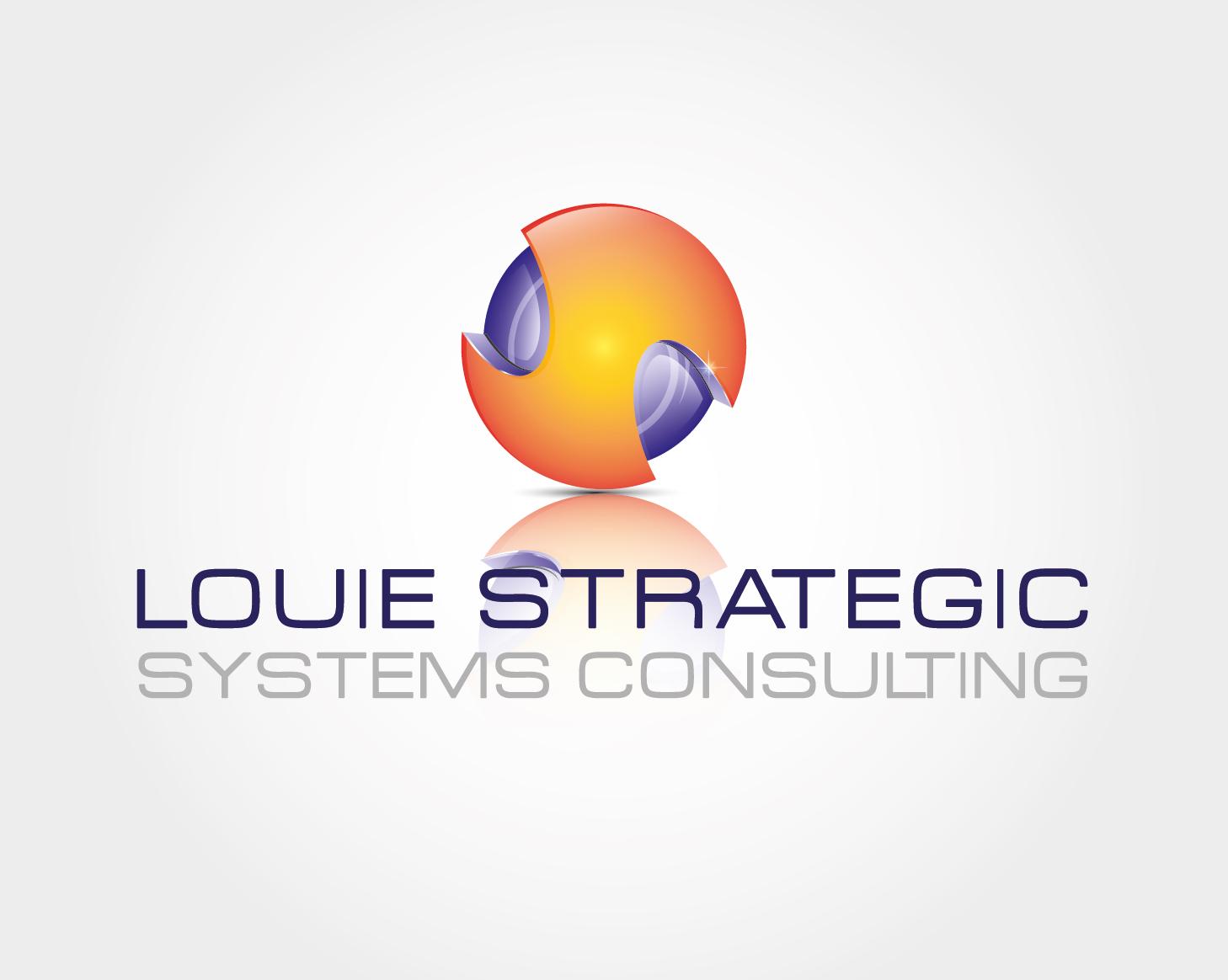 Logo Design by VENTSISLAV KOVACHEV - Entry No. 35 in the Logo Design Contest Artistic Logo Design for Louie Strategic Systems Consulting.