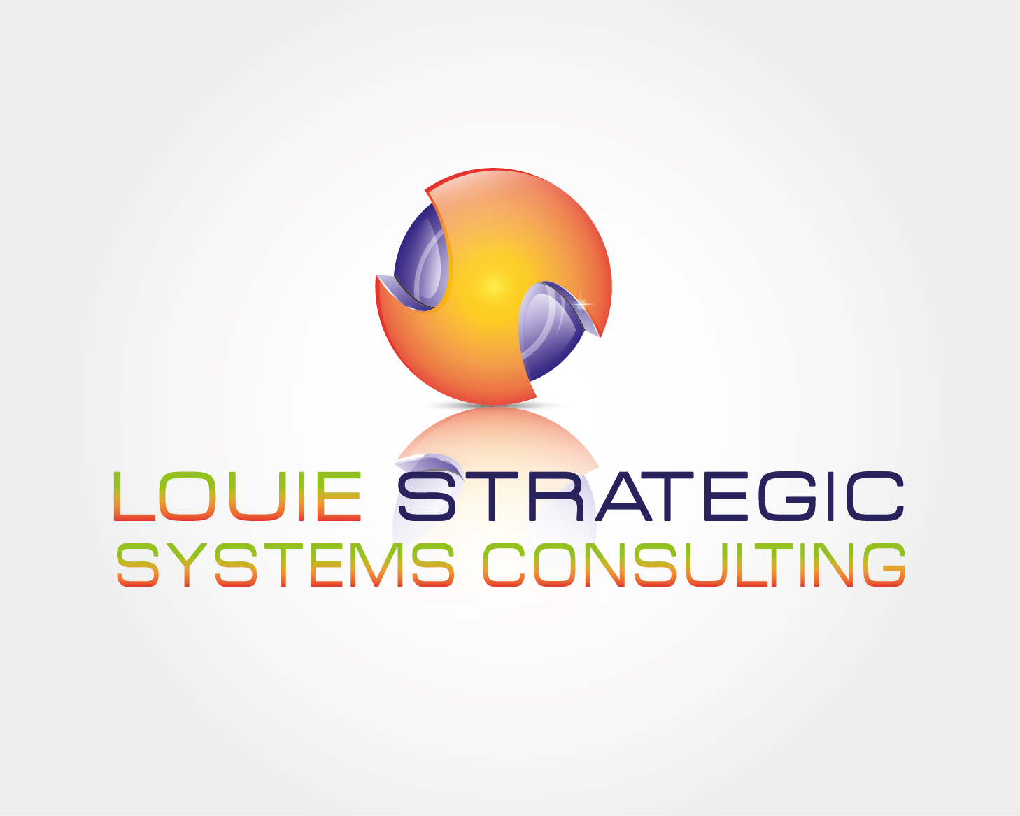 Logo Design by VENTSISLAV KOVACHEV - Entry No. 36 in the Logo Design Contest Artistic Logo Design for Louie Strategic Systems Consulting.