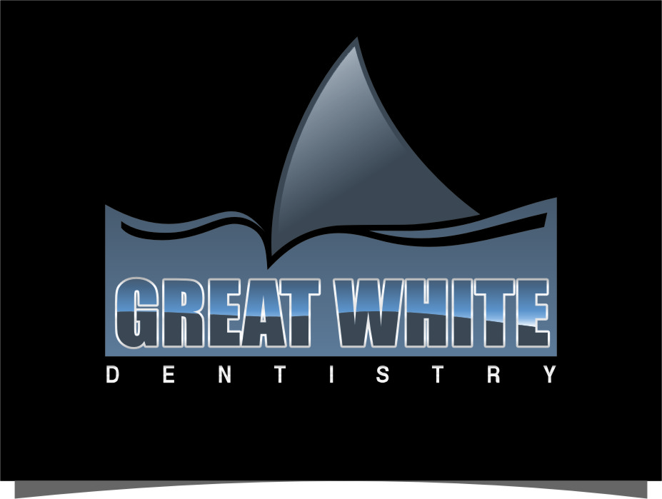 Logo Design by RasYa Muhammad Athaya - Entry No. 99 in the Logo Design Contest Logo Design for Great White Dentistry.