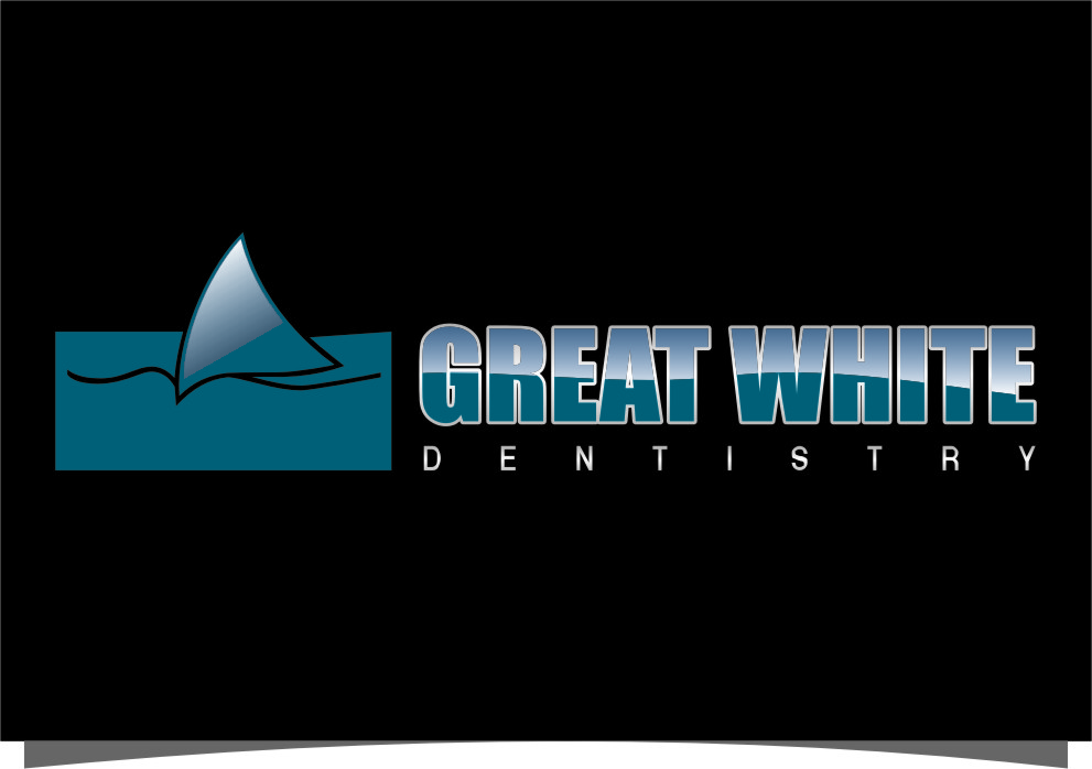 Logo Design by RoSyid Rono-Rene On Java - Entry No. 100 in the Logo Design Contest Logo Design for Great White Dentistry.