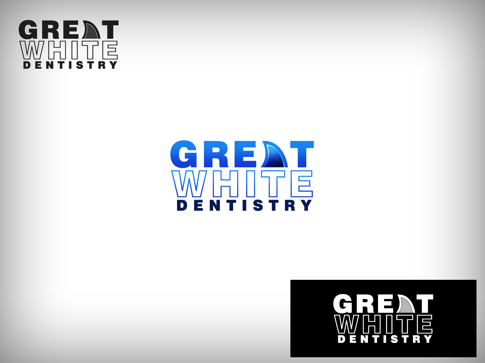 Logo Design by Virgilio Pineda III - Entry No. 103 in the Logo Design Contest Logo Design for Great White Dentistry.