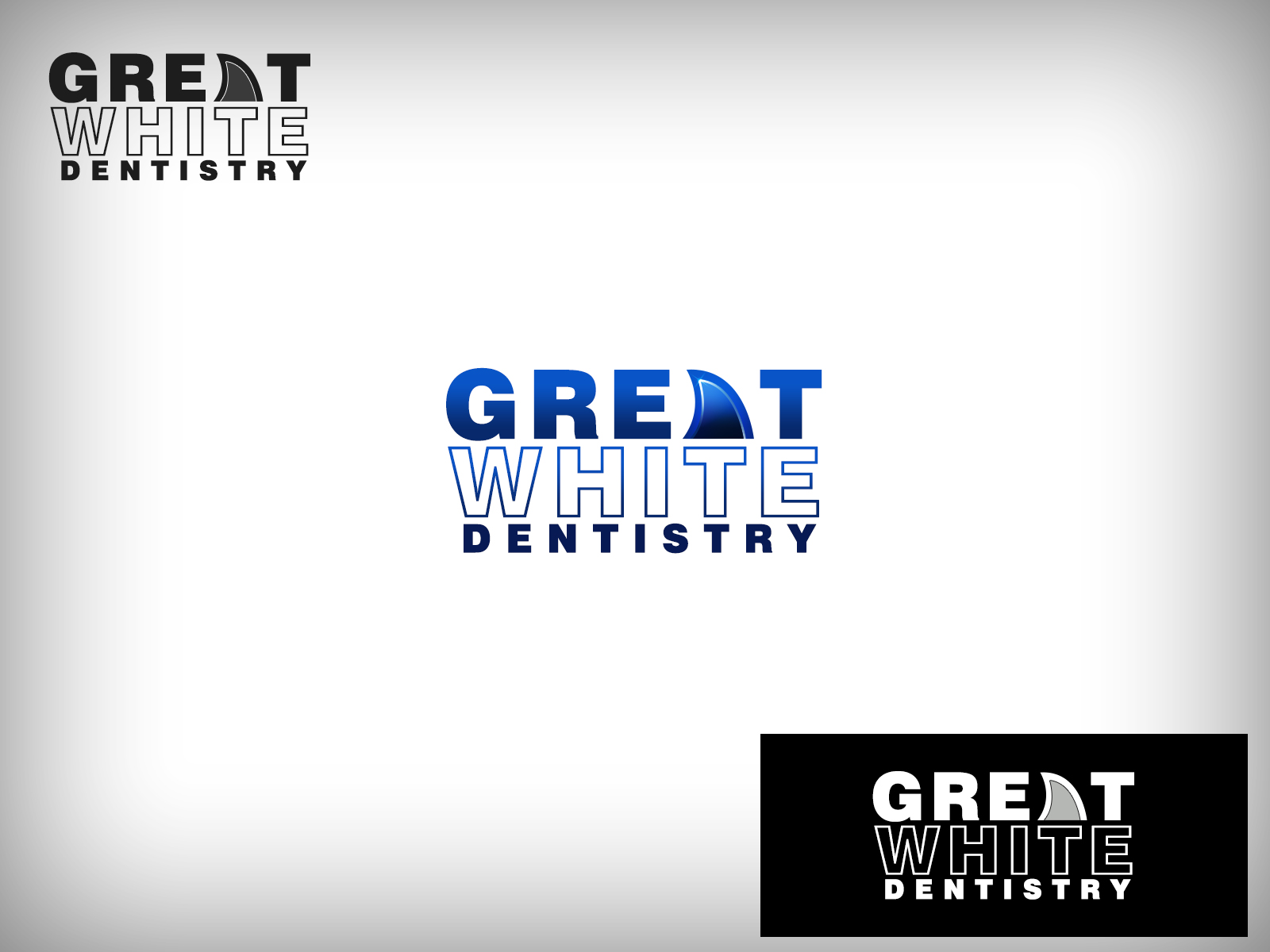 Logo Design by Virgilio Pineda III - Entry No. 104 in the Logo Design Contest Logo Design for Great White Dentistry.