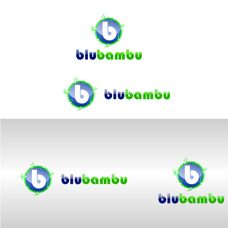 Logo Design by RAJU CHATTERJEE - Entry No. 9 in the Logo Design Contest New Logo Design for blubambu.