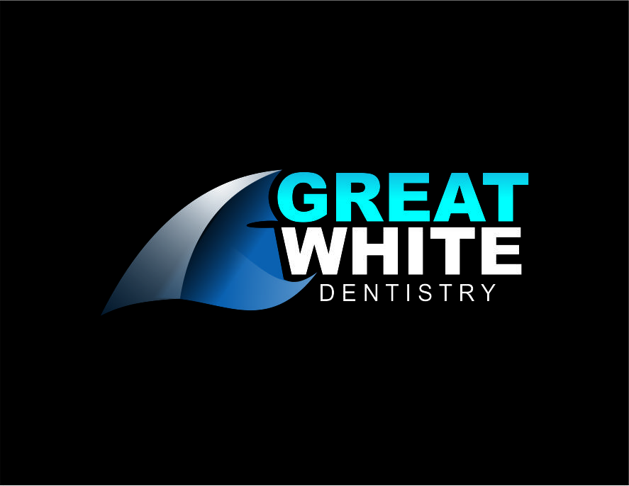 Logo Design by Agus Martoyo - Entry No. 106 in the Logo Design Contest Logo Design for Great White Dentistry.
