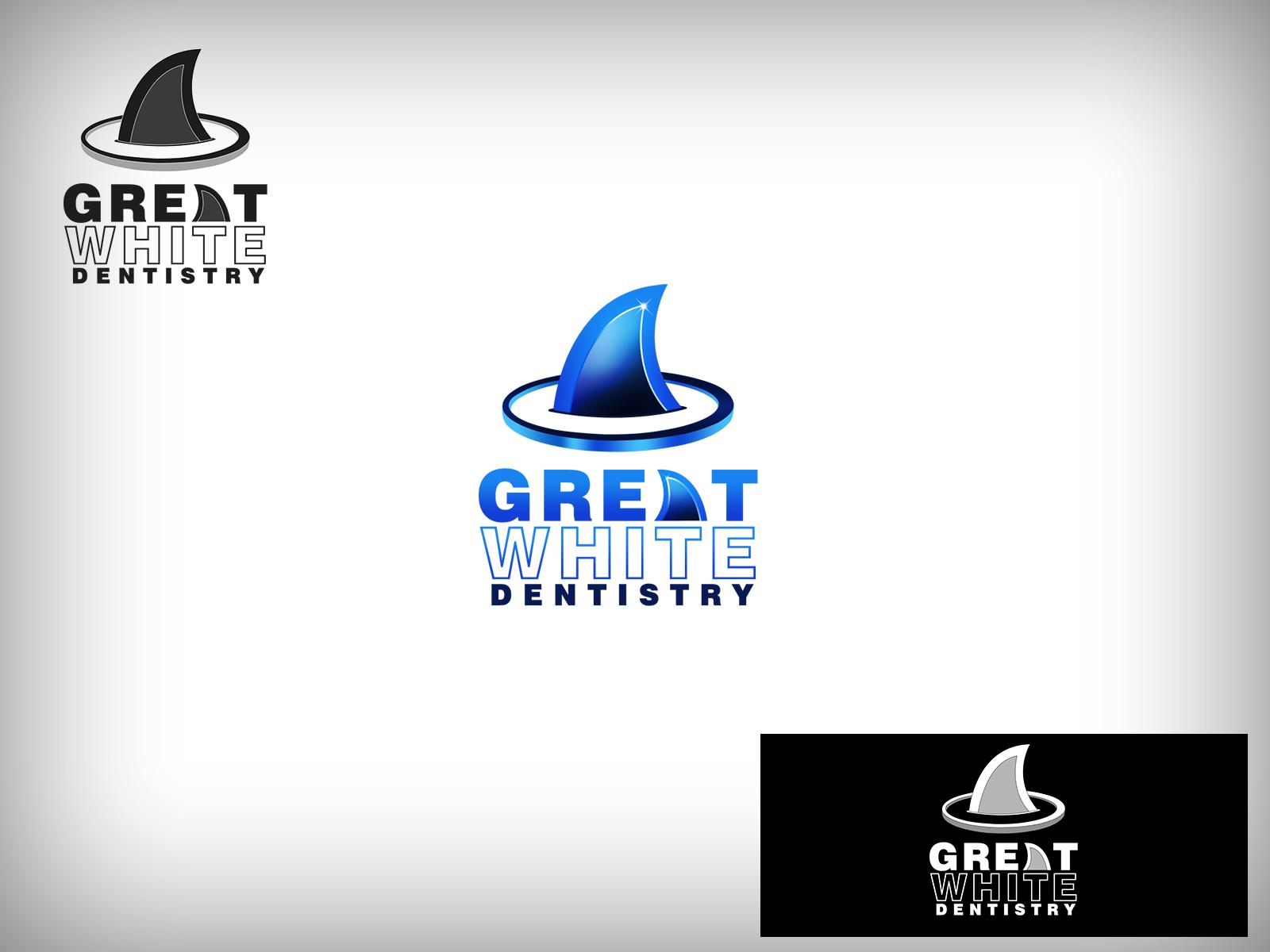 Logo Design by Virgilio Pineda III - Entry No. 107 in the Logo Design Contest Logo Design for Great White Dentistry.