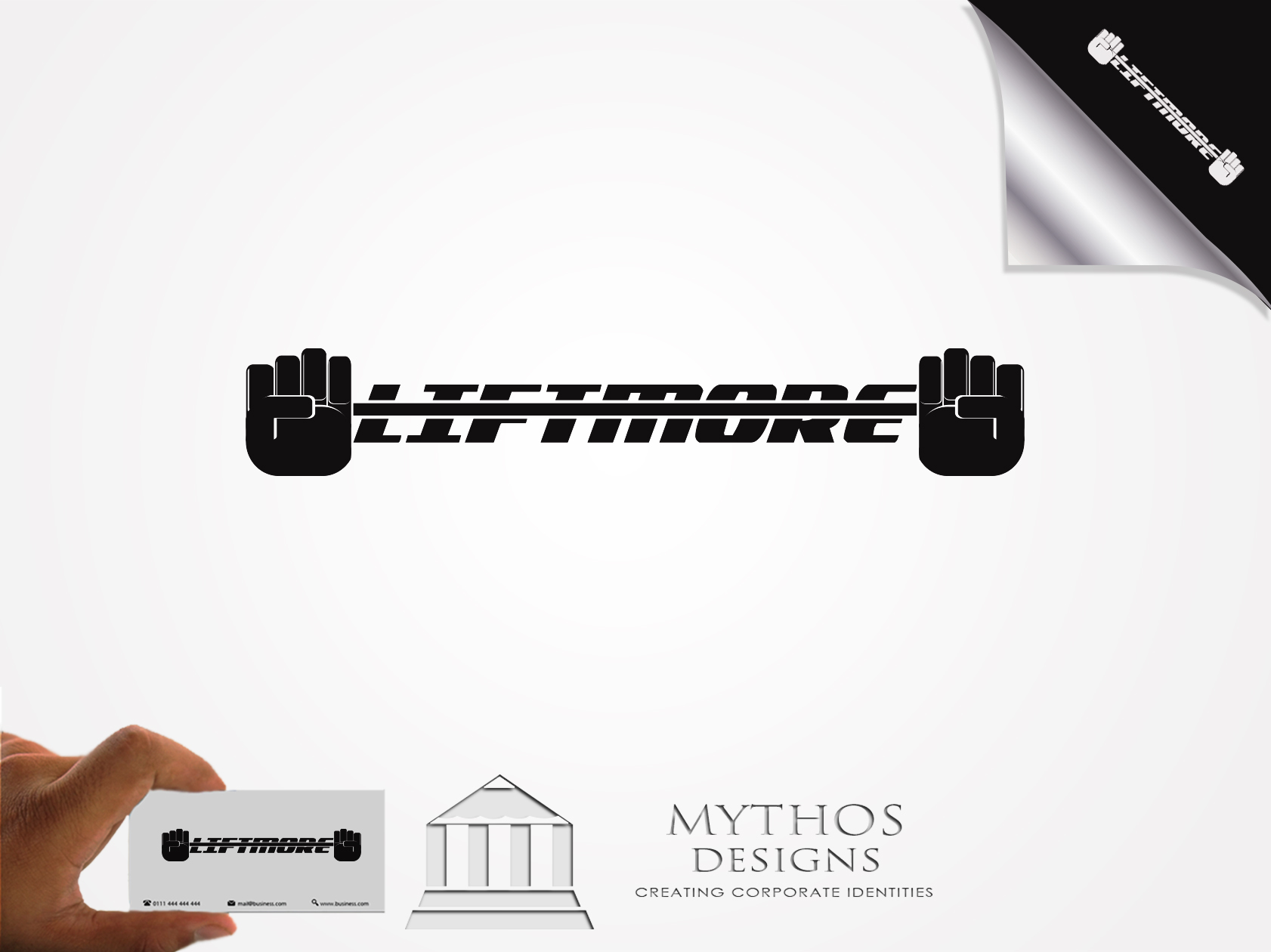 Logo Design by Mythos Designs - Entry No. 48 in the Logo Design Contest Unique Logo Design Wanted for Liftmore.