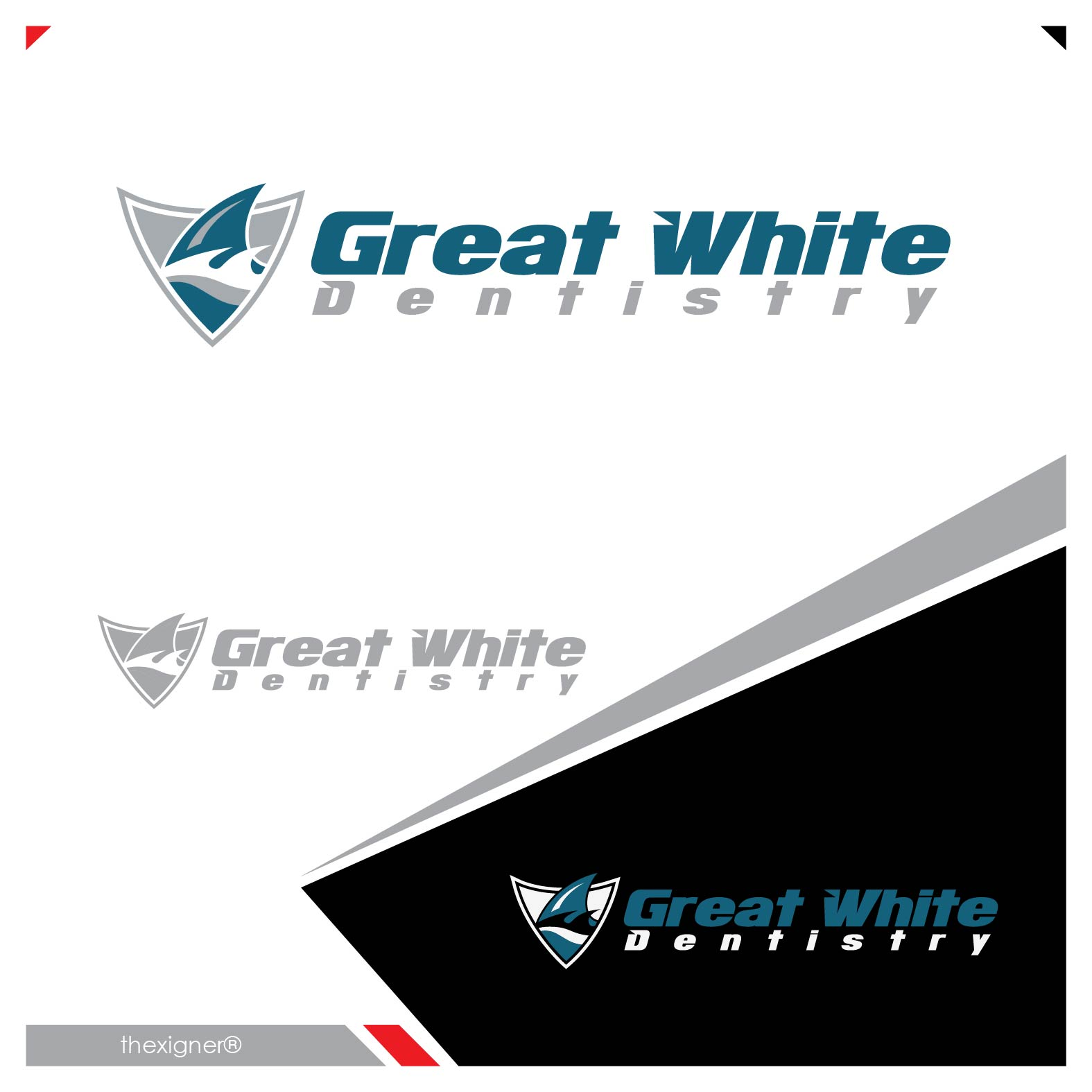 Logo Design by lagalag - Entry No. 108 in the Logo Design Contest Logo Design for Great White Dentistry.