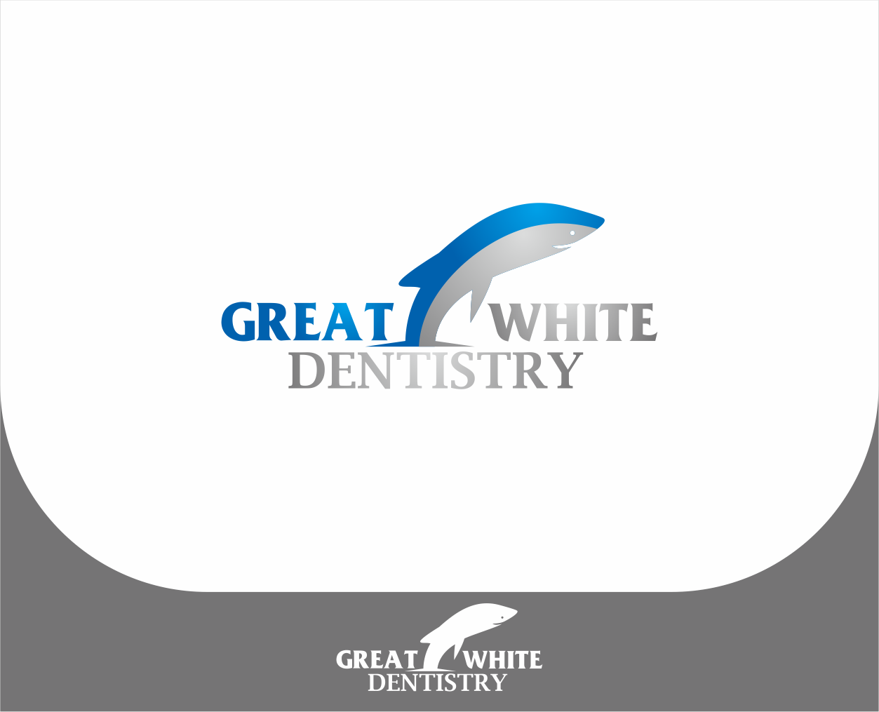 Logo Design by Armada Jamaluddin - Entry No. 119 in the Logo Design Contest Logo Design for Great White Dentistry.