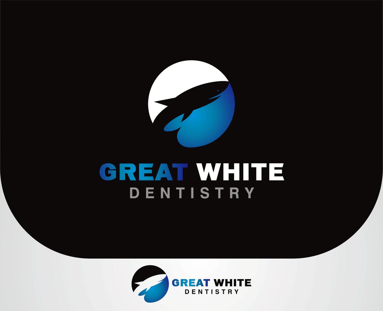 Logo Design by Armada Jamaluddin - Entry No. 121 in the Logo Design Contest Logo Design for Great White Dentistry.