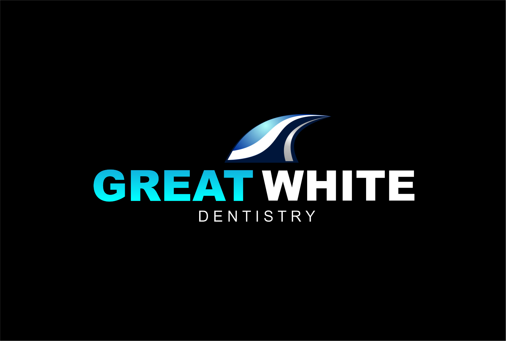 Logo Design by Agus Martoyo - Entry No. 123 in the Logo Design Contest Logo Design for Great White Dentistry.