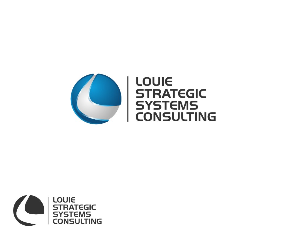Logo Design by untung - Entry No. 43 in the Logo Design Contest Artistic Logo Design for Louie Strategic Systems Consulting.