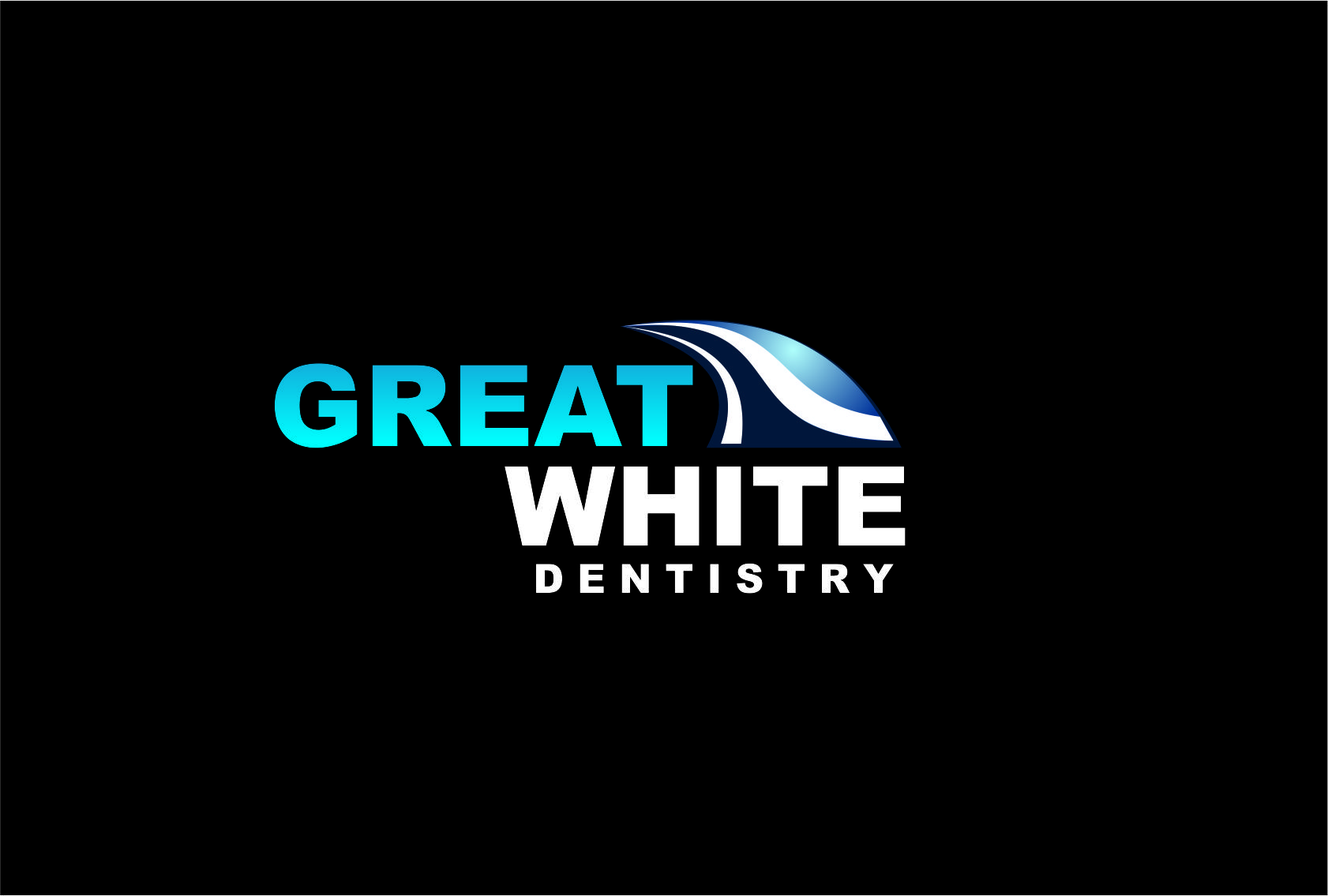 Logo Design by Agus Martoyo - Entry No. 126 in the Logo Design Contest Logo Design for Great White Dentistry.