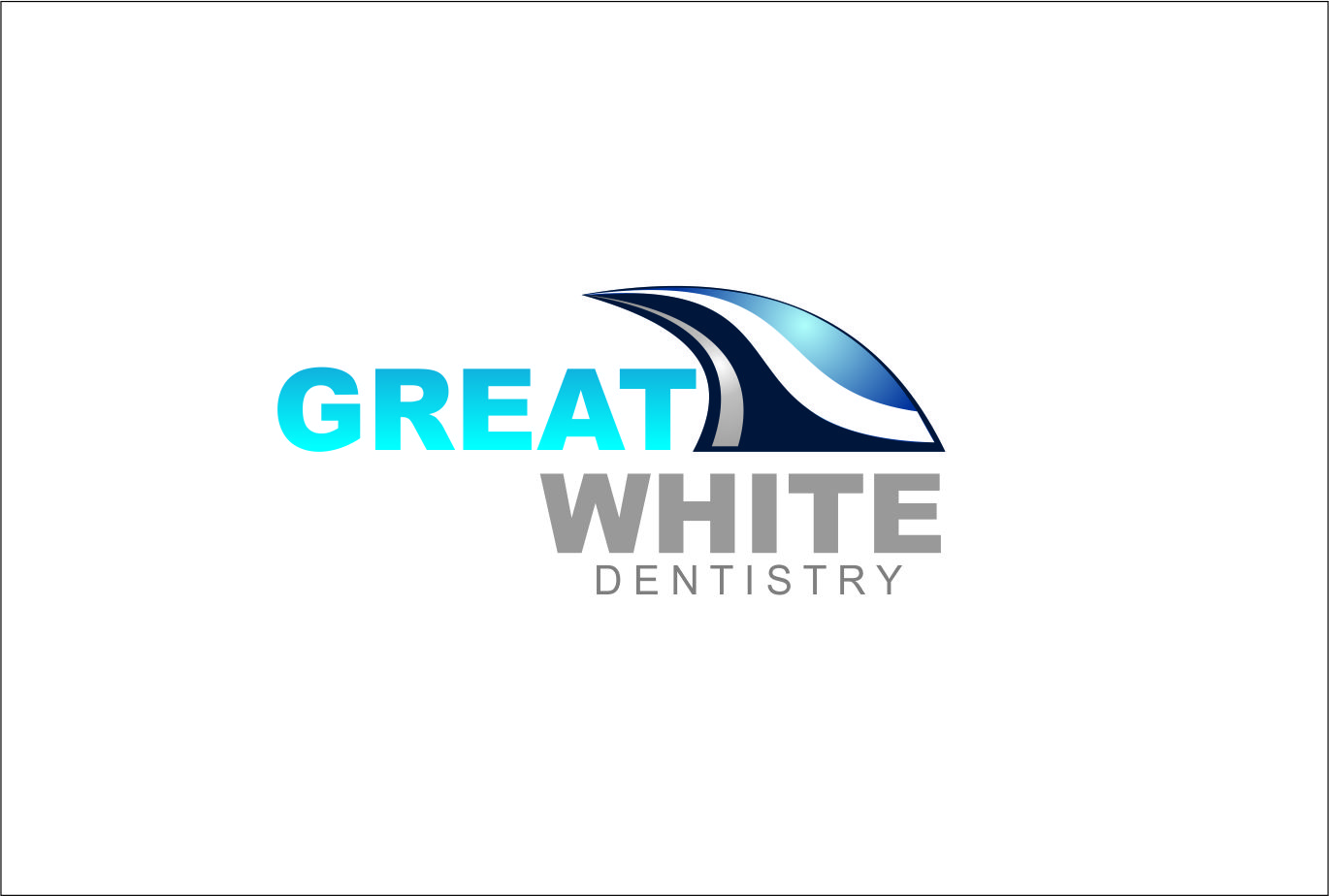 Logo Design by Agus Martoyo - Entry No. 127 in the Logo Design Contest Logo Design for Great White Dentistry.