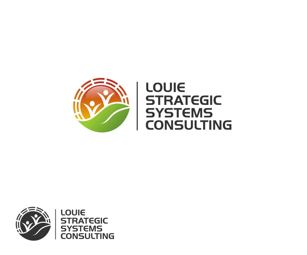 Logo Design by untung - Entry No. 44 in the Logo Design Contest Artistic Logo Design for Louie Strategic Systems Consulting.