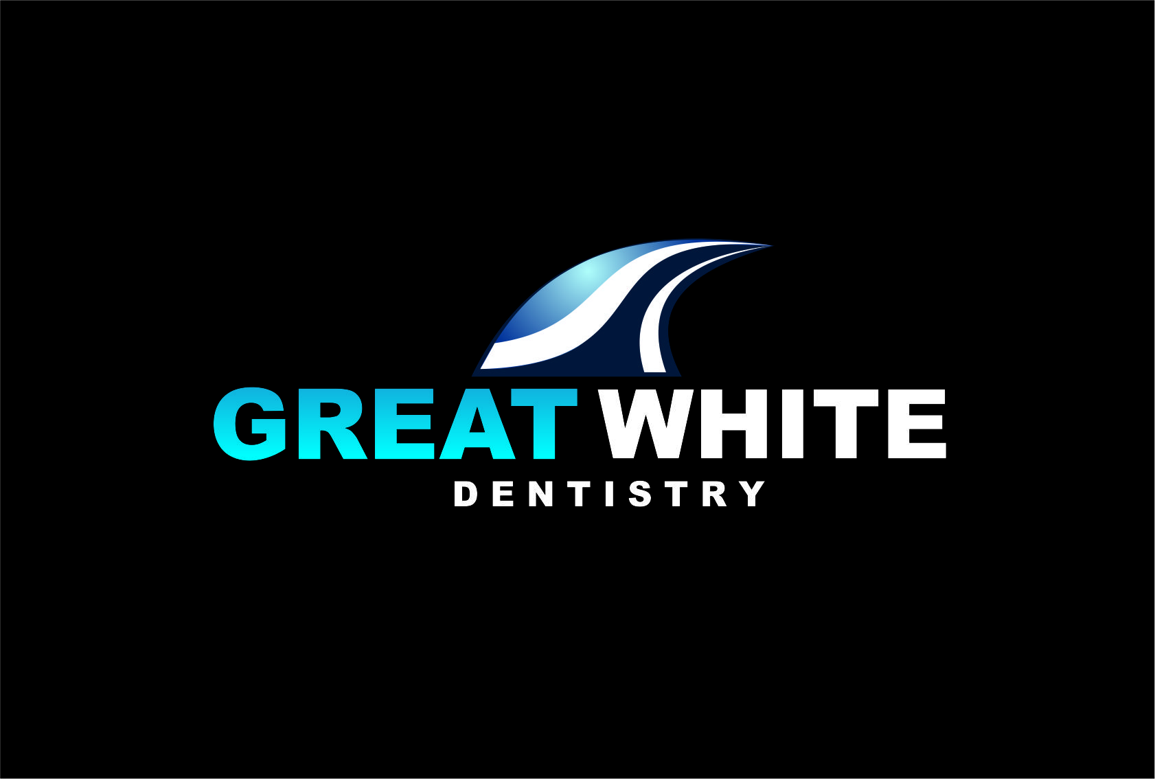 Logo Design by Agus Martoyo - Entry No. 128 in the Logo Design Contest Logo Design for Great White Dentistry.