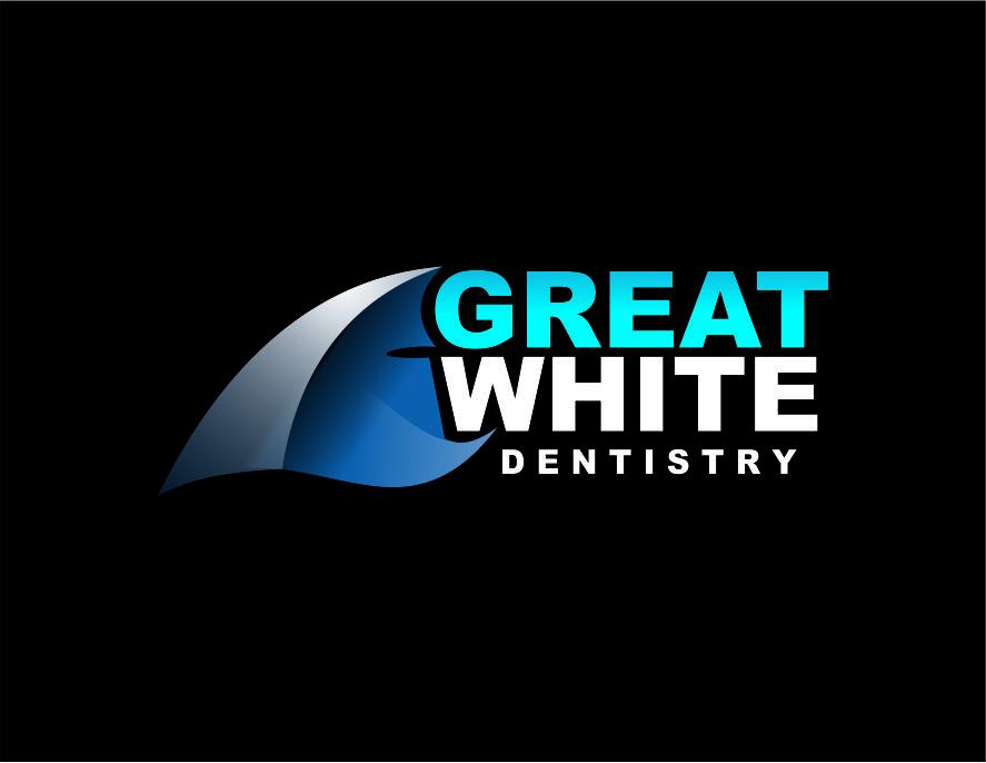 Logo Design by Agus Martoyo - Entry No. 129 in the Logo Design Contest Logo Design for Great White Dentistry.