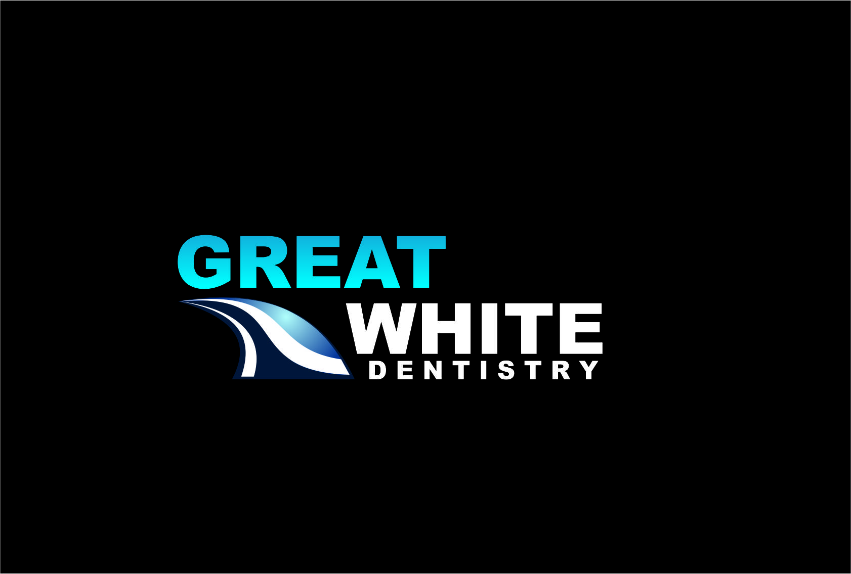 Logo Design by Agus Martoyo - Entry No. 130 in the Logo Design Contest Logo Design for Great White Dentistry.