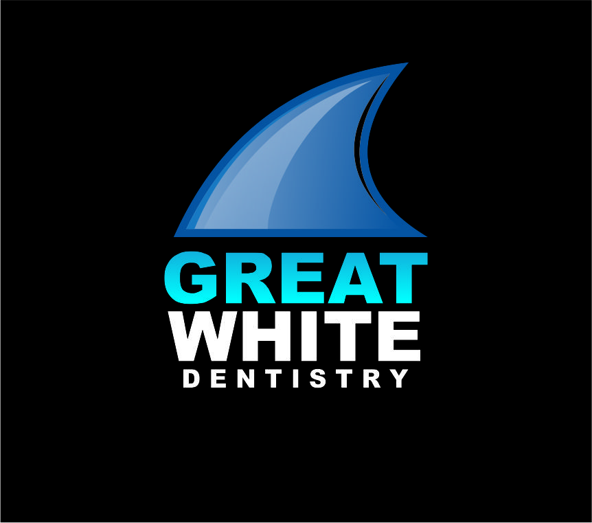 Logo Design by Agus Martoyo - Entry No. 131 in the Logo Design Contest Logo Design for Great White Dentistry.