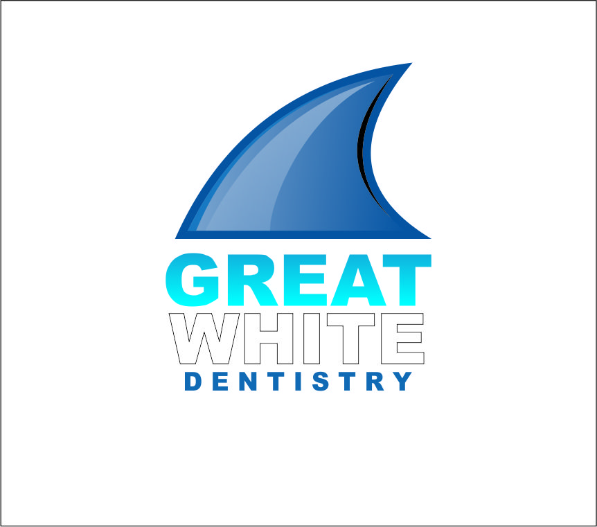 Logo Design by Agus Martoyo - Entry No. 133 in the Logo Design Contest Logo Design for Great White Dentistry.