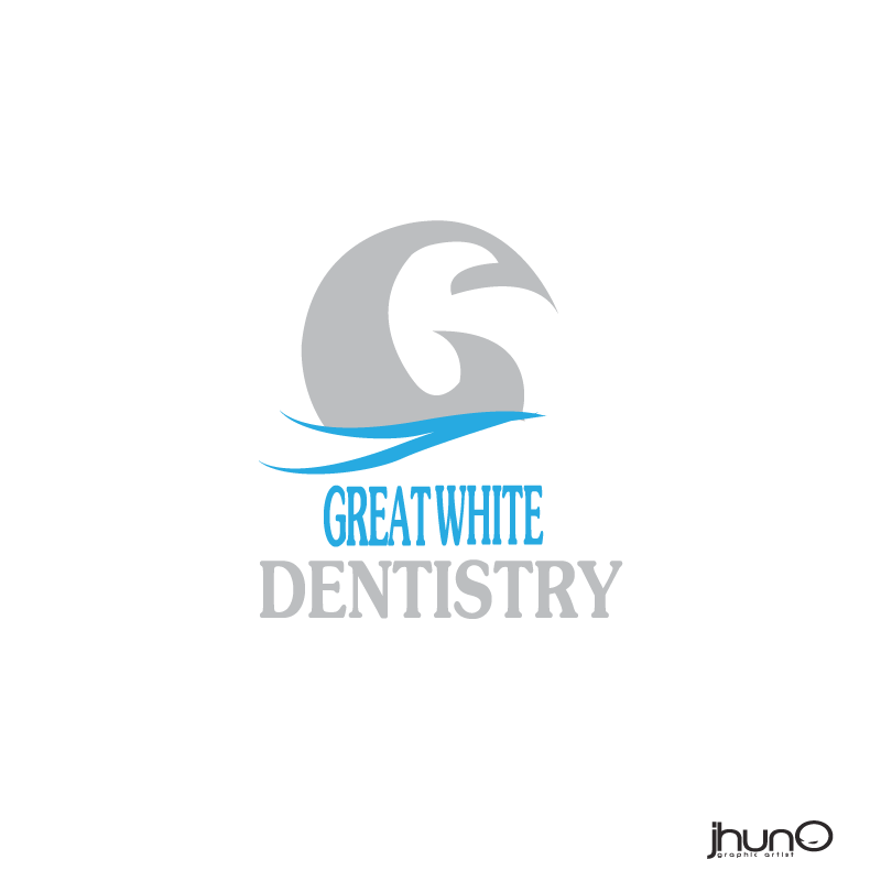 Logo Design by zesthar - Entry No. 134 in the Logo Design Contest Logo Design for Great White Dentistry.