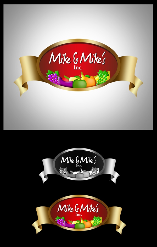 Logo Design by Respati Himawan - Entry No. 22 in the Logo Design Contest Captivating Logo Design for Mike and Mike's Inc..