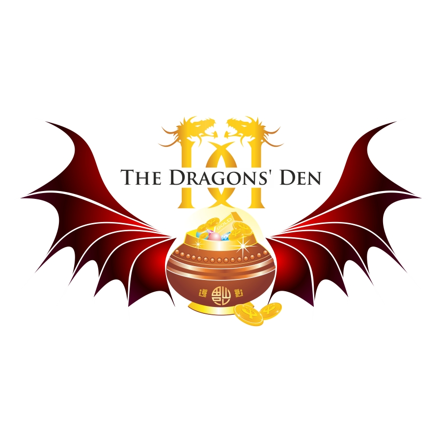 Logo Design by mare-ingenii - Entry No. 153 in the Logo Design Contest The Dragons' Den needs a new logo.