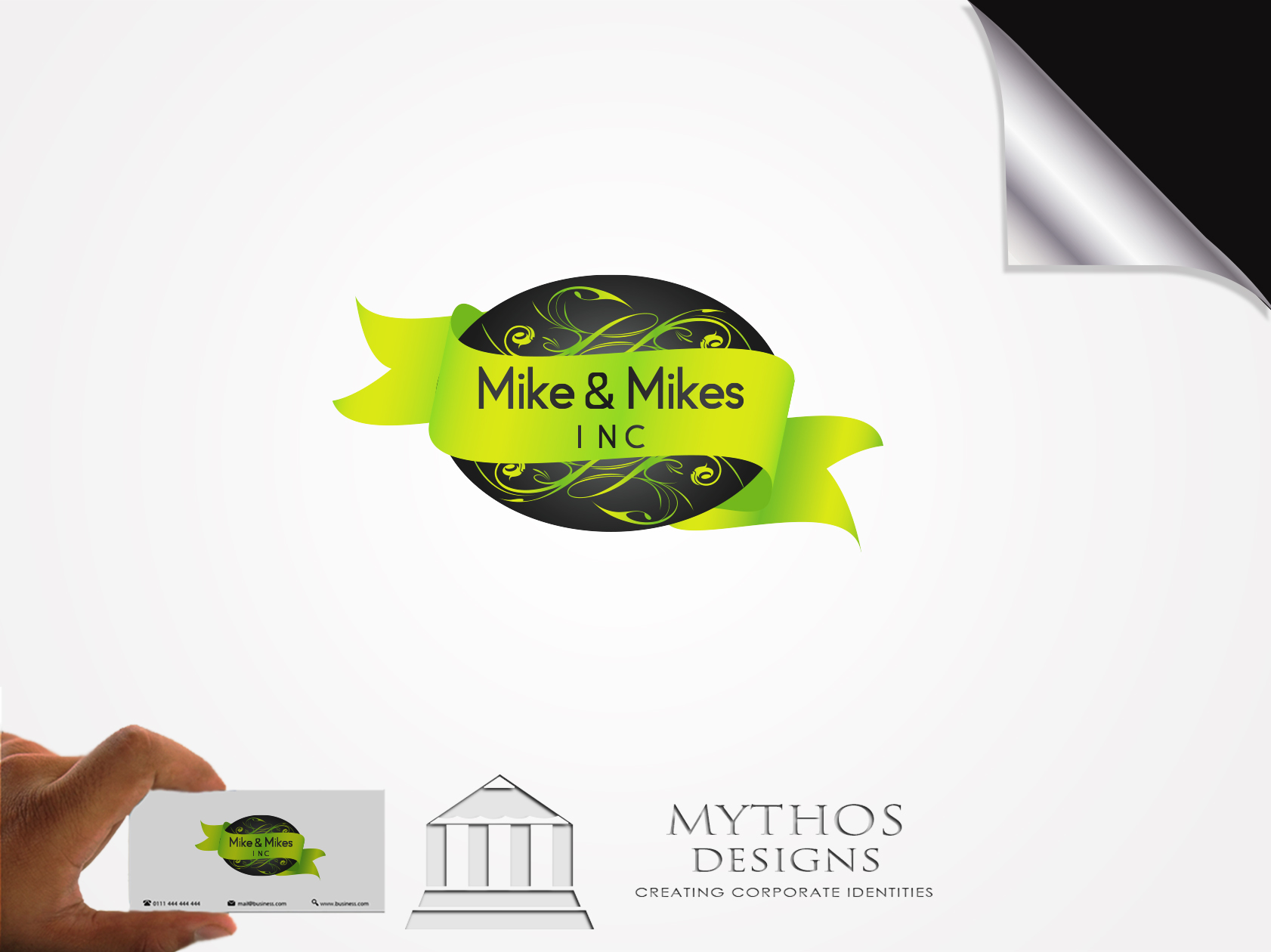 Logo Design by Mythos Designs - Entry No. 24 in the Logo Design Contest Captivating Logo Design for Mike and Mike's Inc..